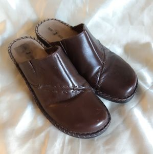 Duck Head Leather Clogs Mules